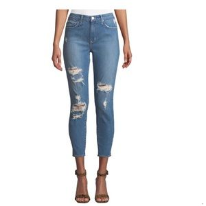 NWT Lovers + Friends Distressed  Ankle Jeans